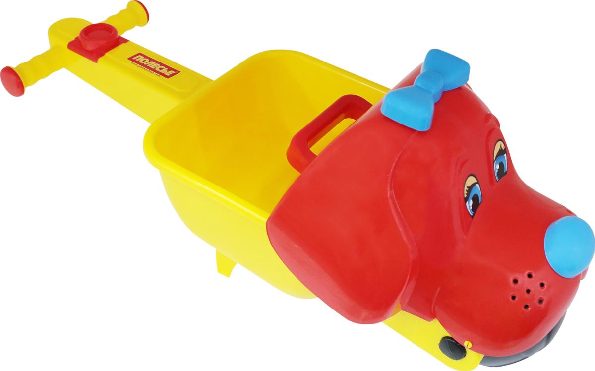 Полесье Игрушка для песочницы Тачка Малыш Тяпа полесье набор для песочницы 469