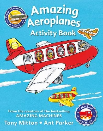 Amazing Machines Amazing Aeroplanes Activity Book where s wally across lands activity book 100 stickers