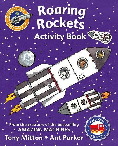Amazing Machines Roaring Rockets Activity Book little children s knights and castles activity book