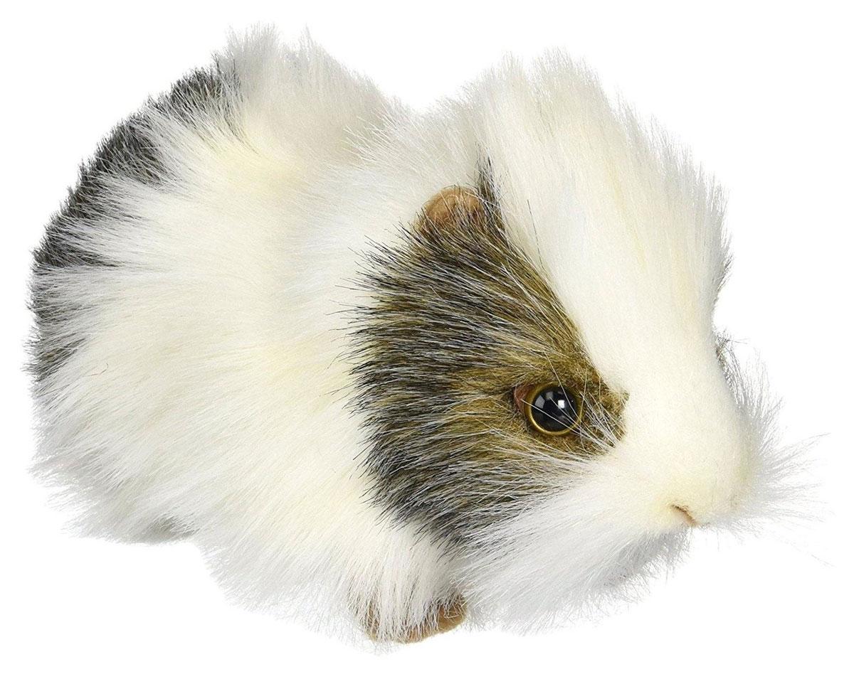 цена на Hansa Мягкая игрушка Морская свинка цвет белый серый 20 см