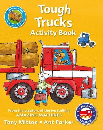 Amazing Machines Tough Trucks Activity Book little children s knights and castles activity book