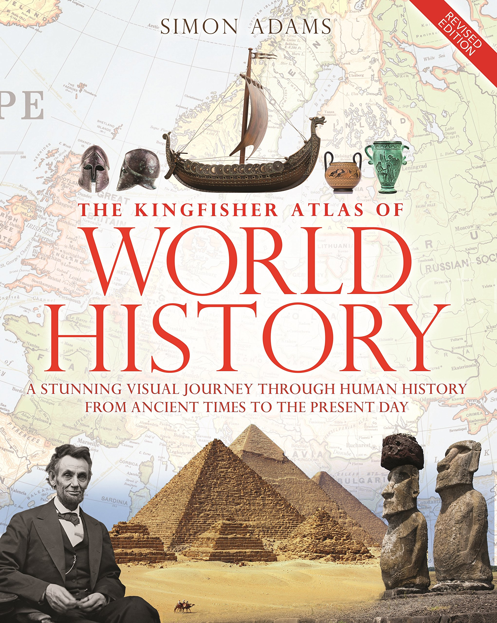 Kingfisher Atlas of World History ancient world world history