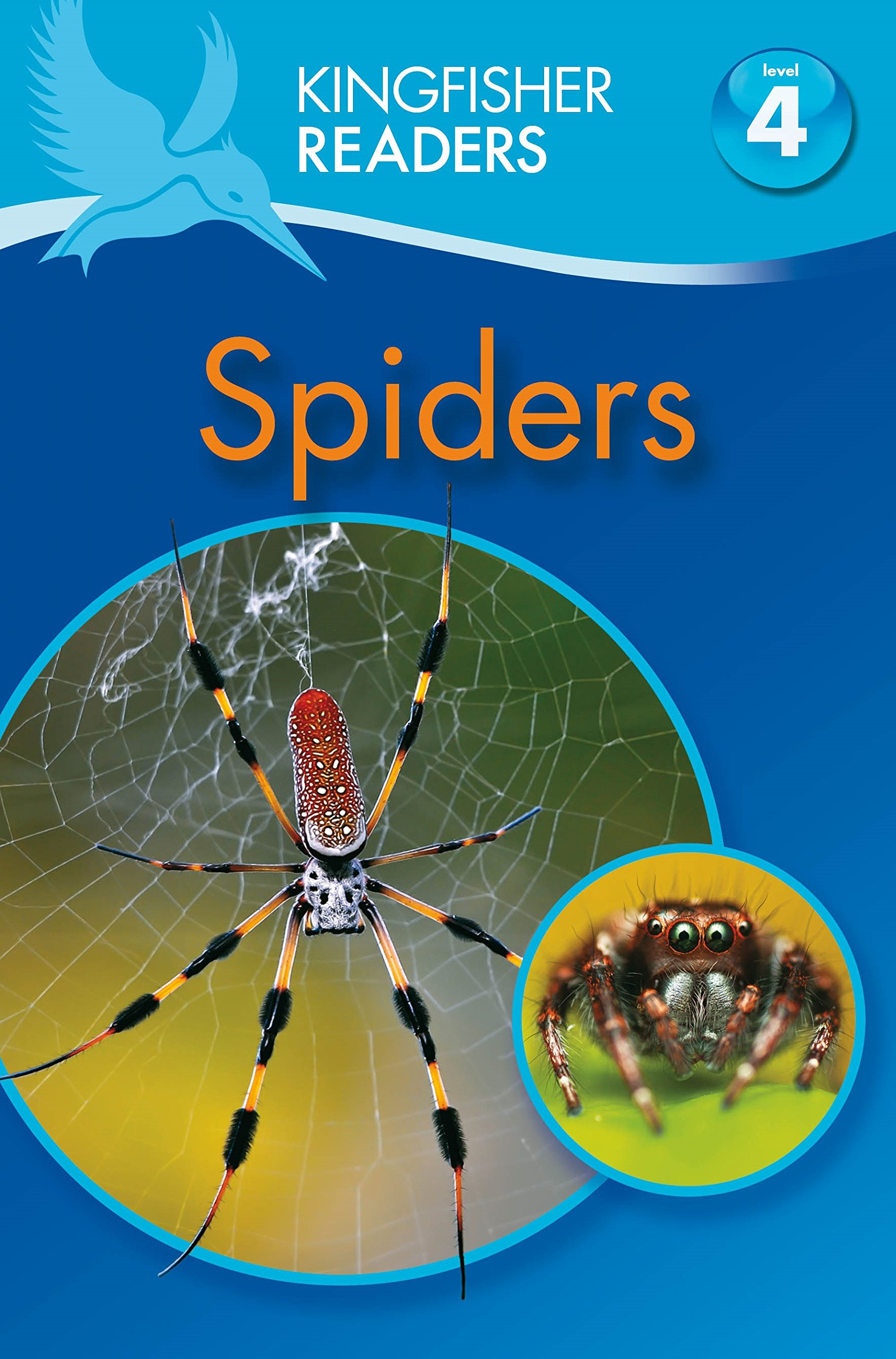 Kingfisher Readers: Spiders (Level 4: Reading Alone) reading literacy for adolescents