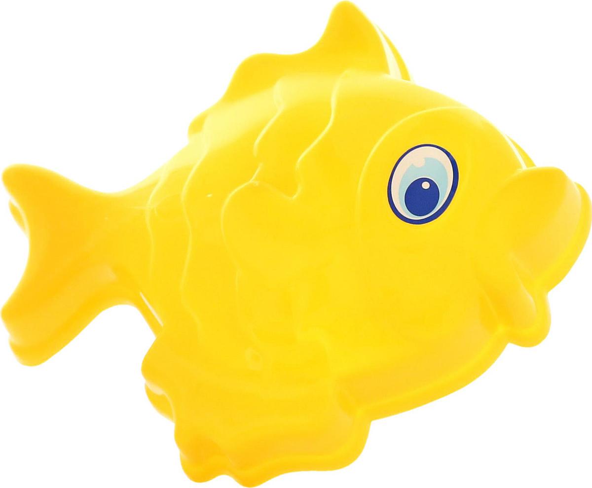 Полесье Игрушка для песочницы Формочка Рыбка большая zebratoys формочка для песочницы собака