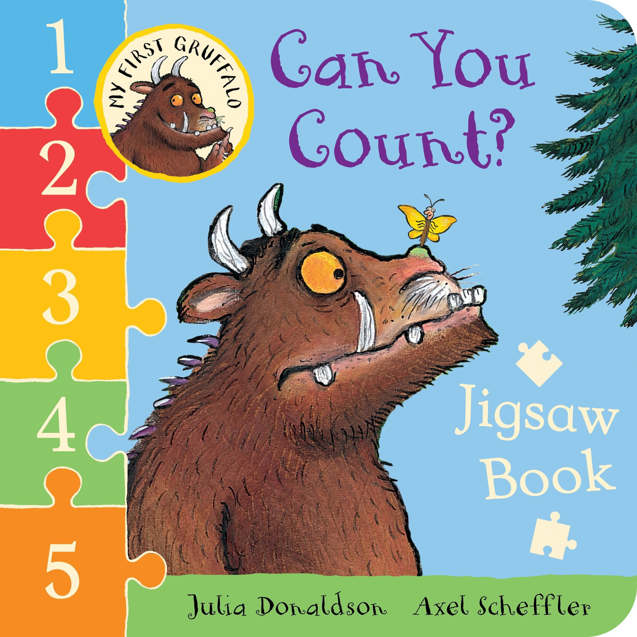 Can You Count? Jigsaw book small beginnings colour and count