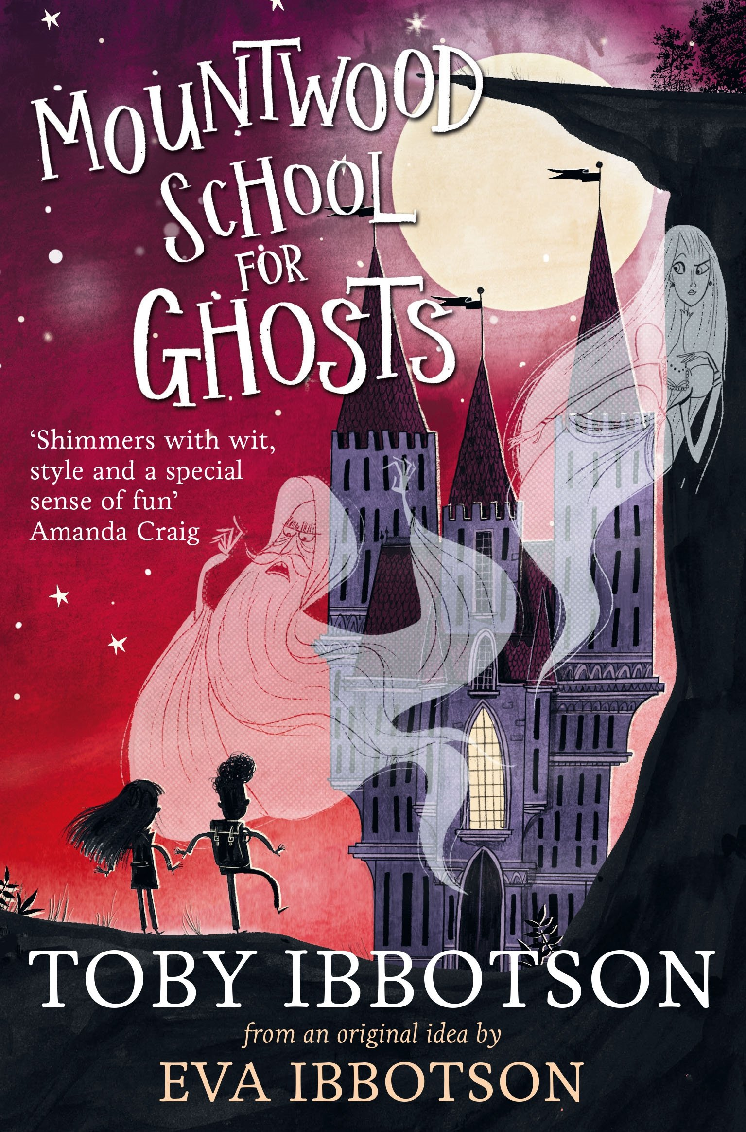 Mountwood School for Ghosts eva ibbotson the great ghost rescue