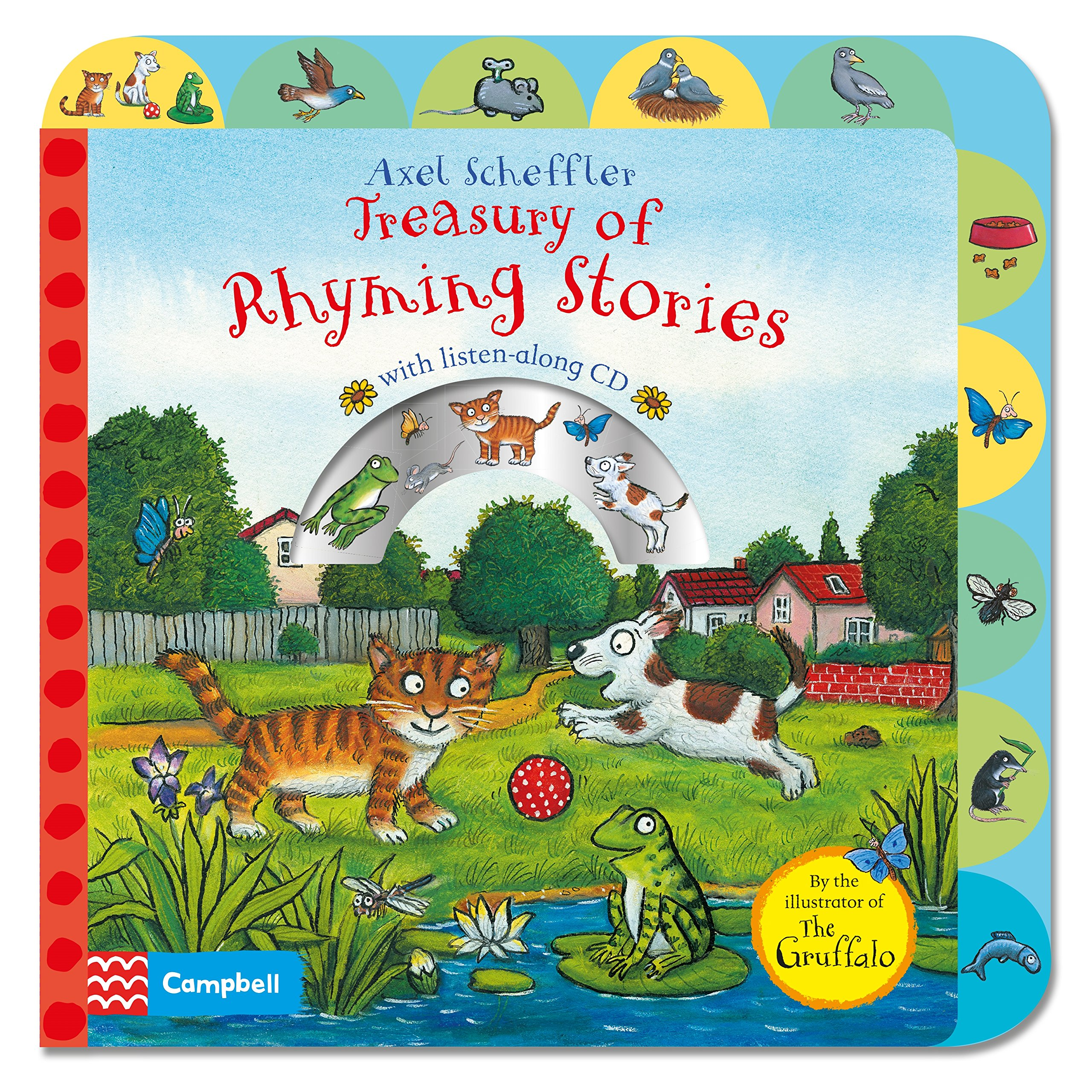 Axel Scheffler Treasury of Rhyming Stories Book and CD the bridge and other love stories stage 1 cd