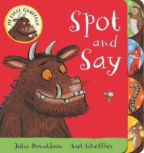 My First Gruffalo: Spot and Say my first dinosaur colouring book