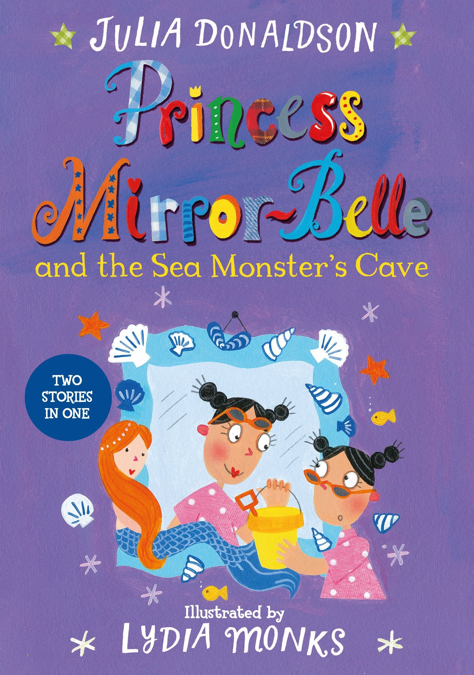 Princess Mirror-Belle and the Sea Monster's Cave the mirror test