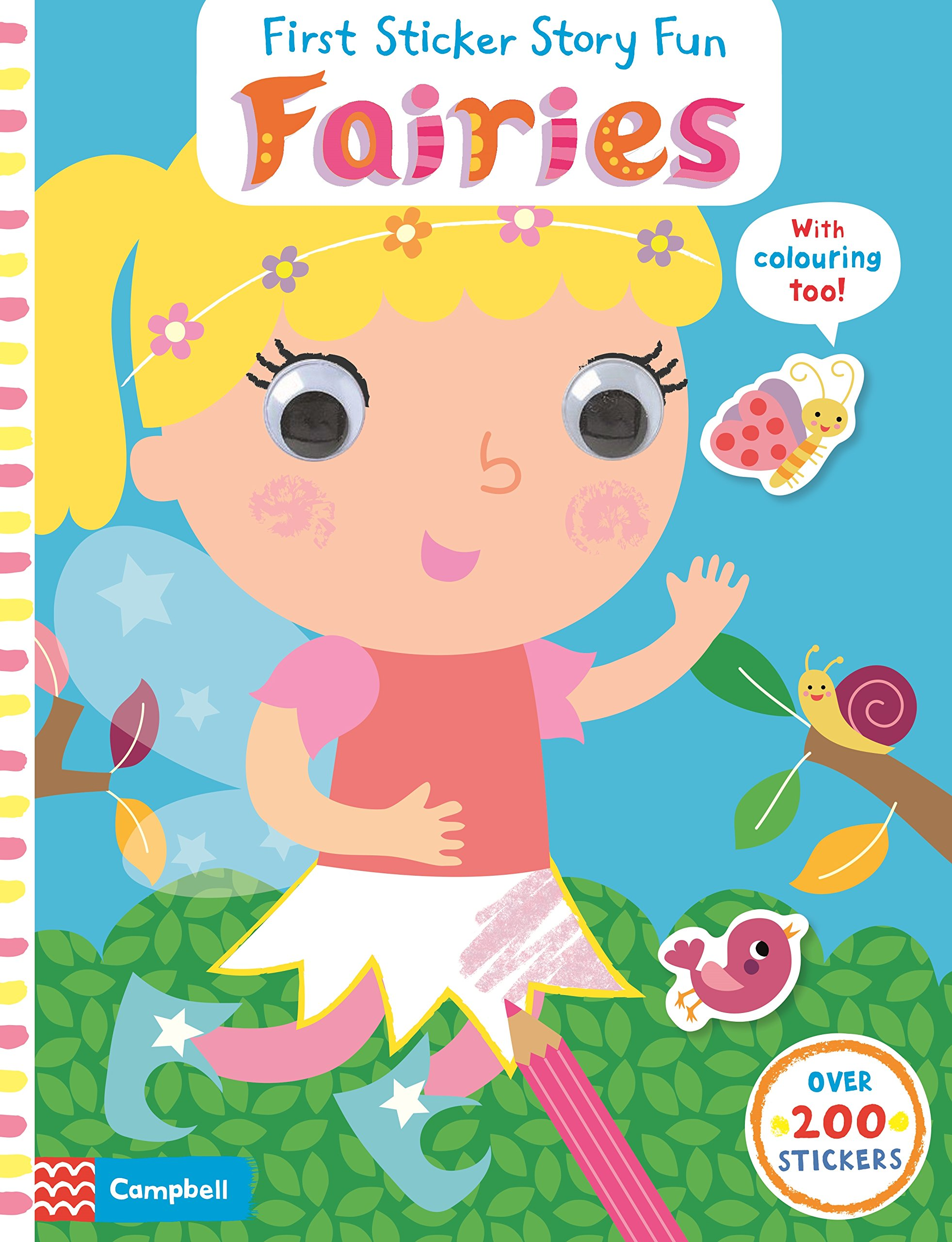 Fairies first sticker book cities of the world