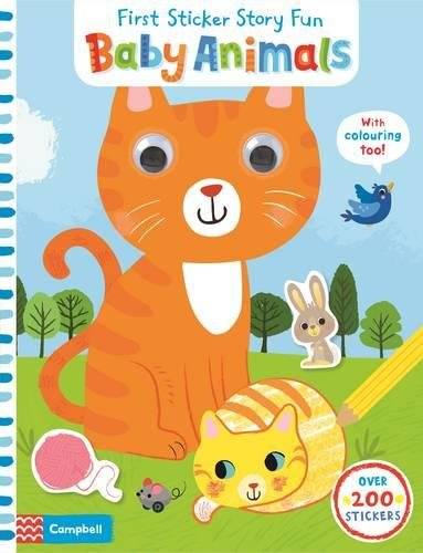Baby Animals maisy s farm sticker book