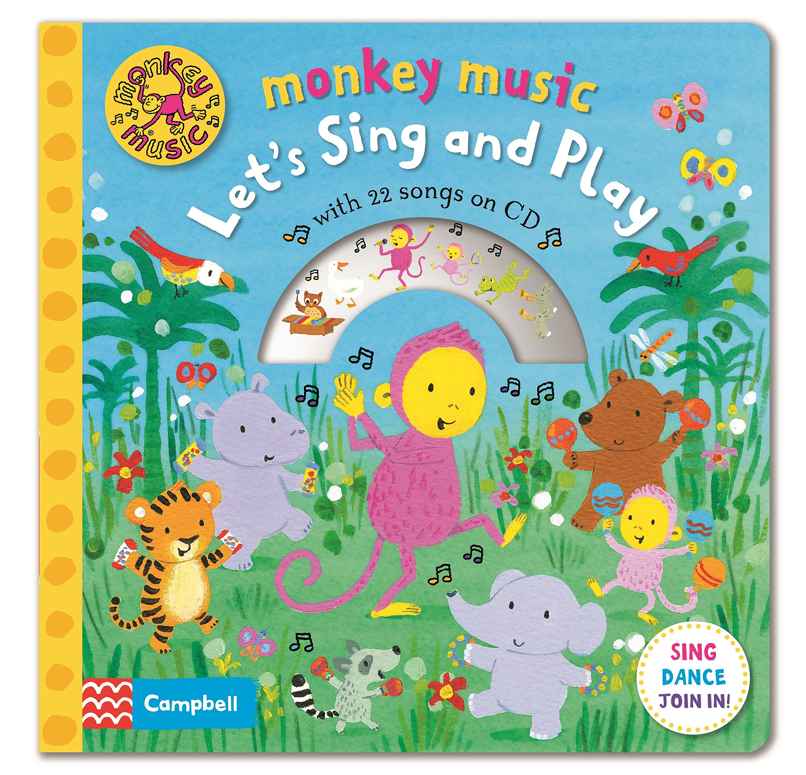 Monkey Music Let's Sing and Play rdr cd [young] granny fixit and the monkey