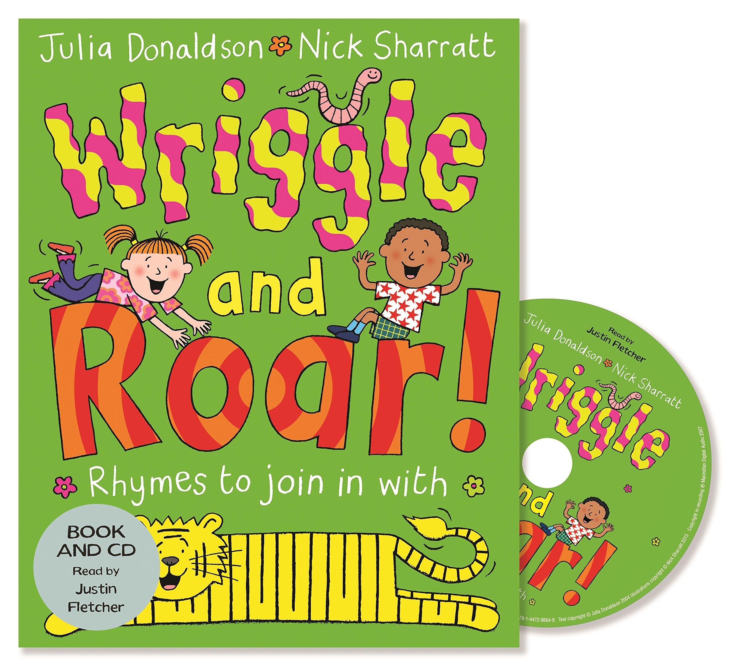 Wriggle and Roar! Book and CD Pack