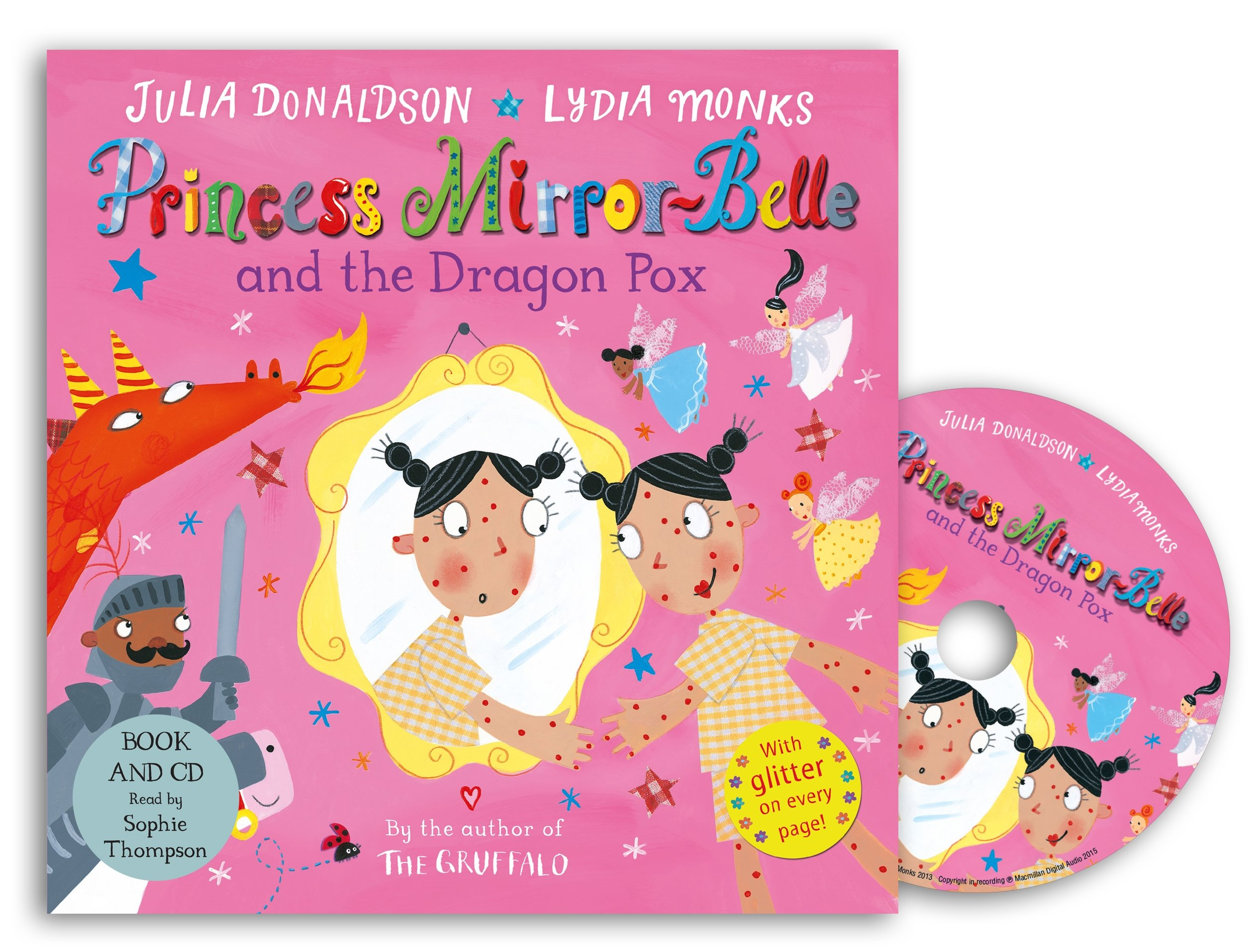 Princess Mirror-Belle and the Dragon Pox Book and CD Pack cd диск the doors when you re strange a film about the doors songs from the motion picture 1 cd