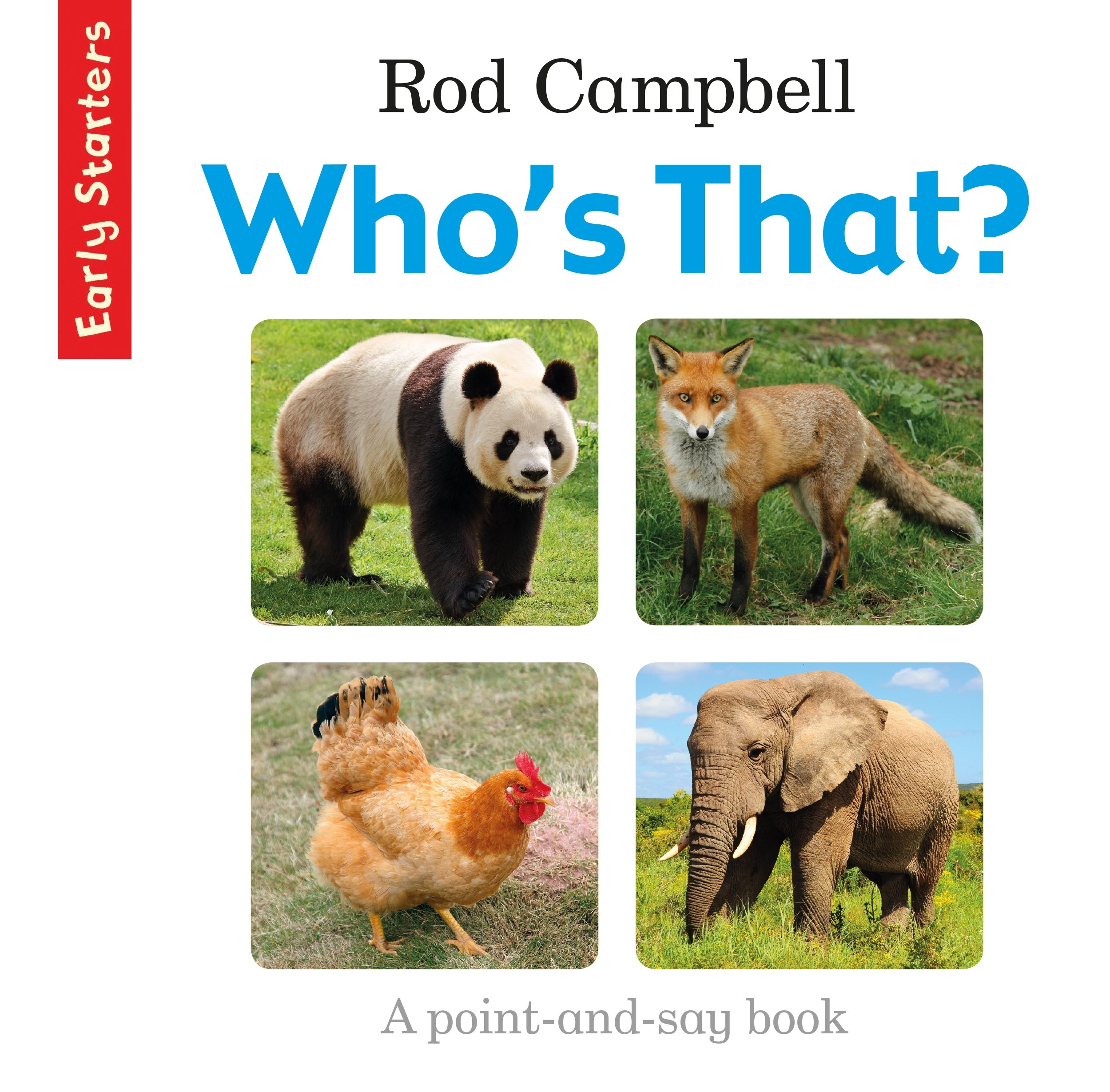 Who's That? rod campbell early starters 123