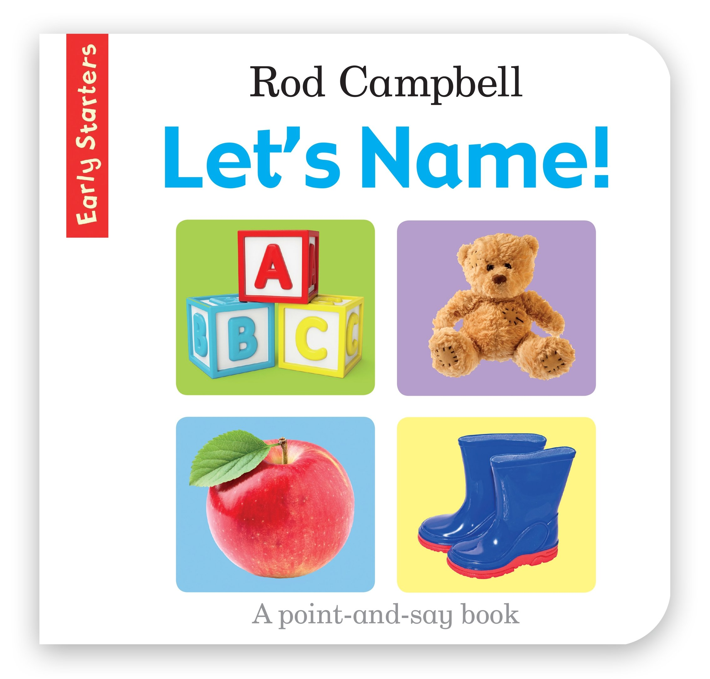 Let's Name! rod campbell early starters 123