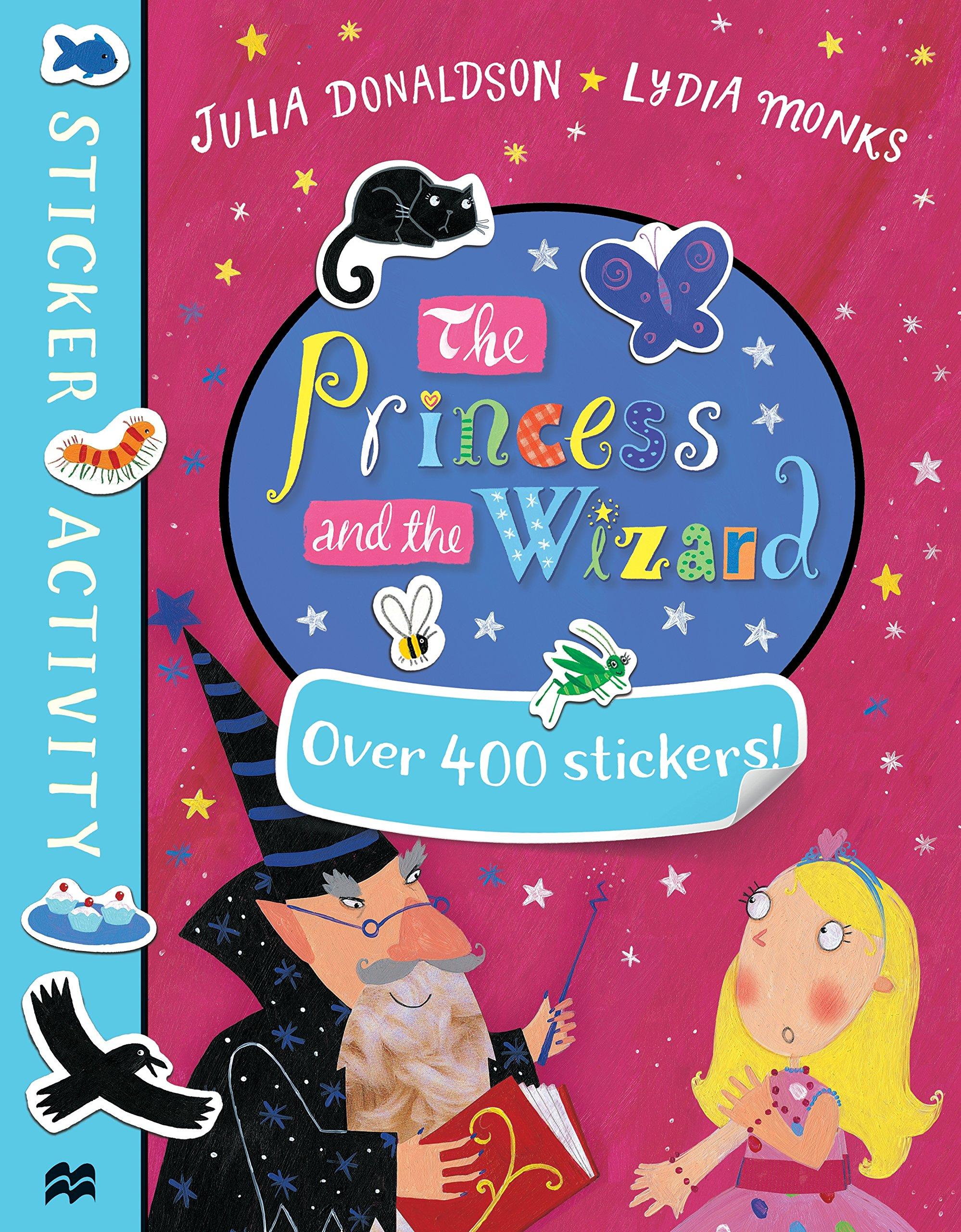 The Princess and the Wizard: Sticker Book the princess and the wizard