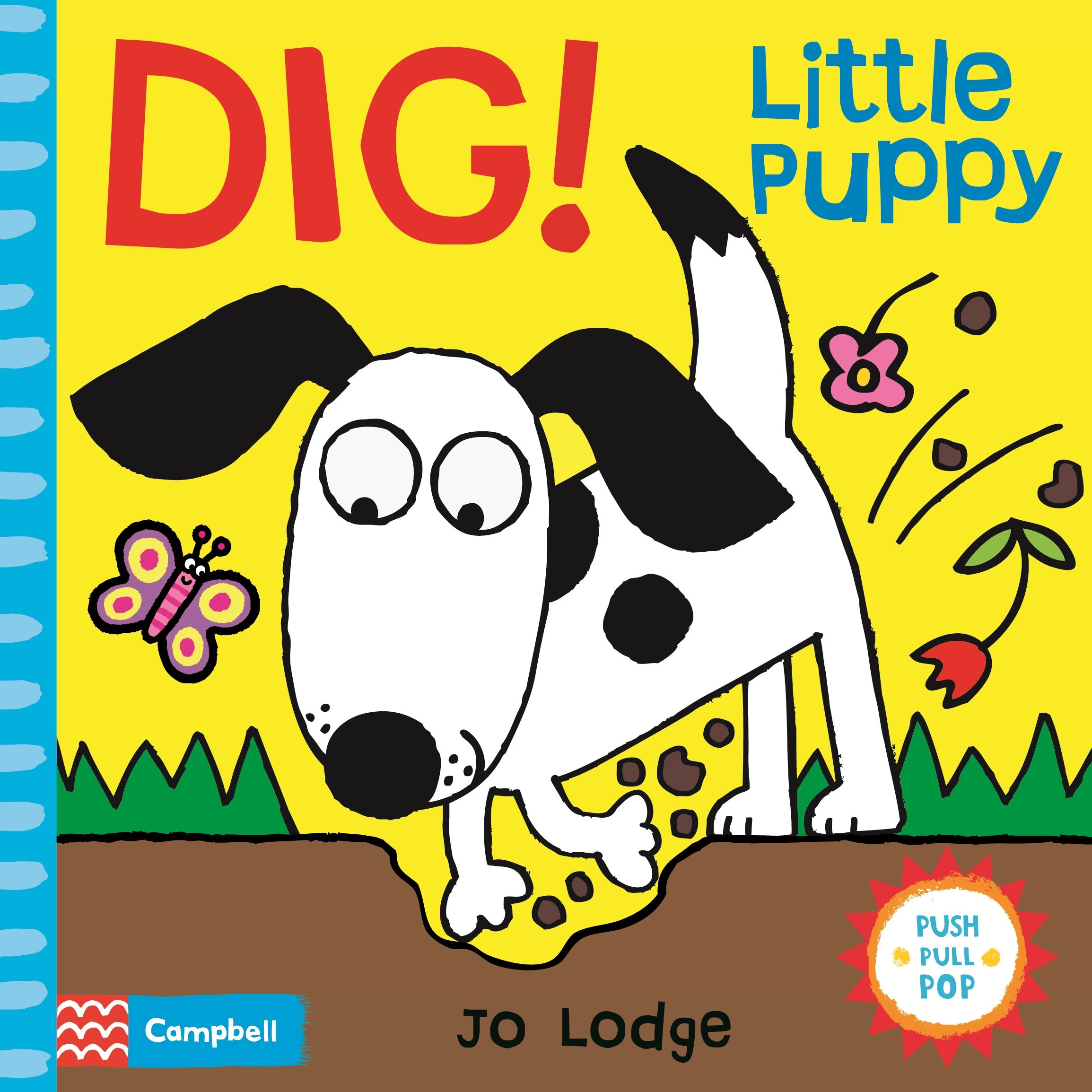 Dig! Little Puppy look and learn dig