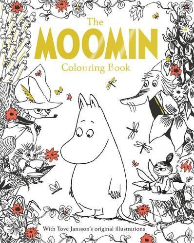 The Moomin Colouring Book die hard the official colouring book