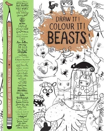 Draw it! Colour it! Beasts 20 ways to draw a dress and 44 other fabulous fashions and accessories a sketchbook for artists designers and doodlers