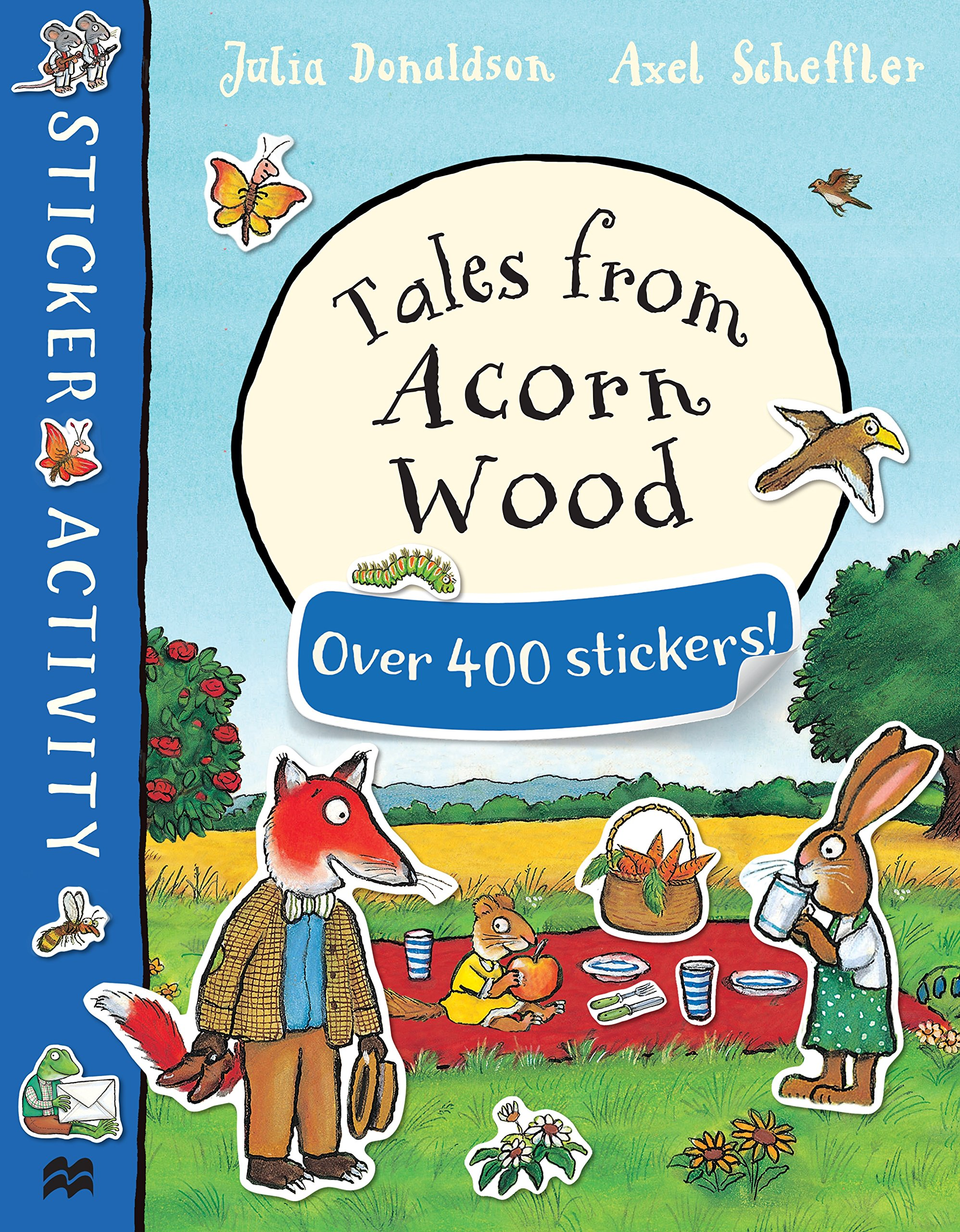 Tales from Acorn Wood Sticker Book tales from the borderlands [ps4]