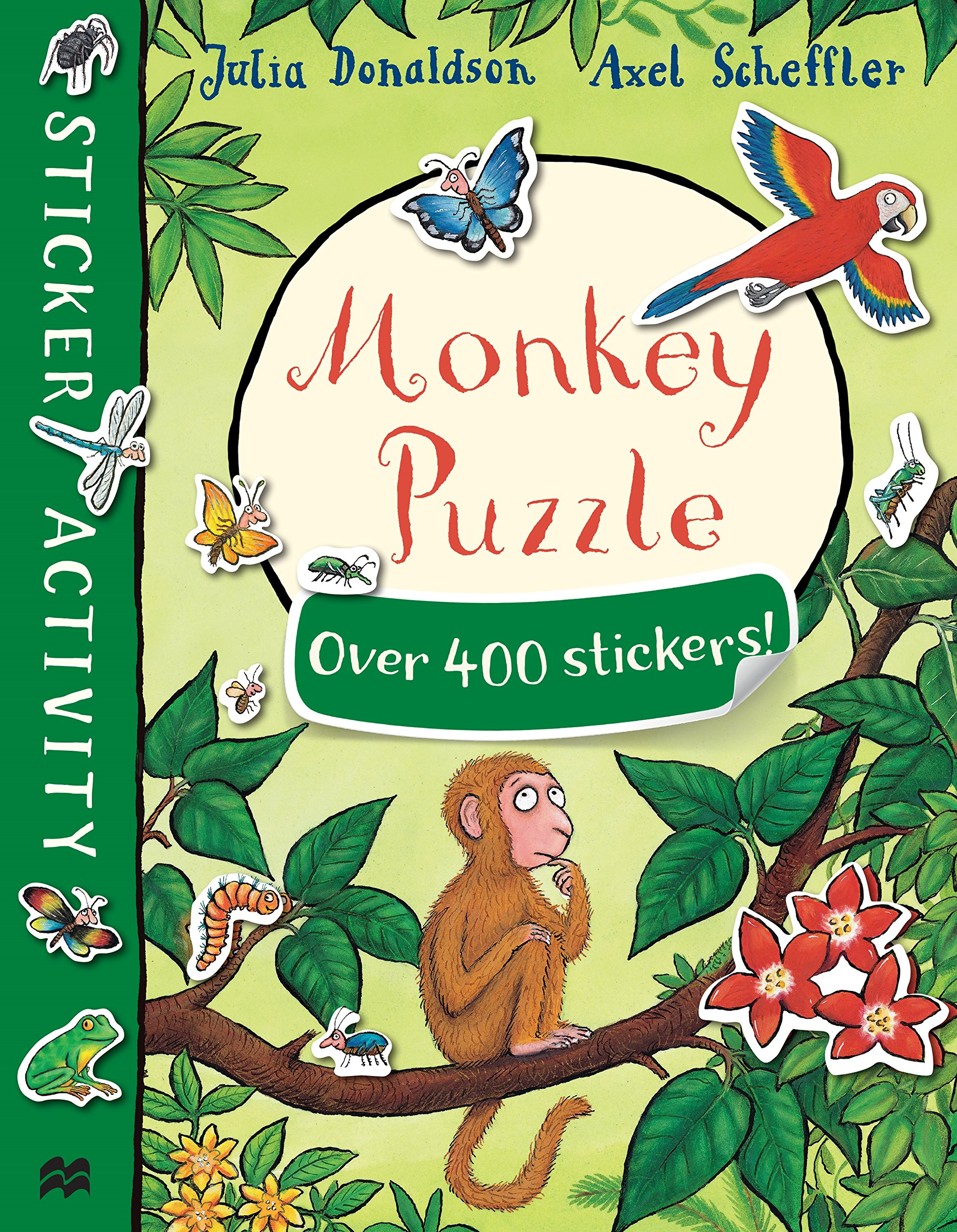Monkey Puzzle: Sticker Book rdr cd [young] granny fixit and the monkey