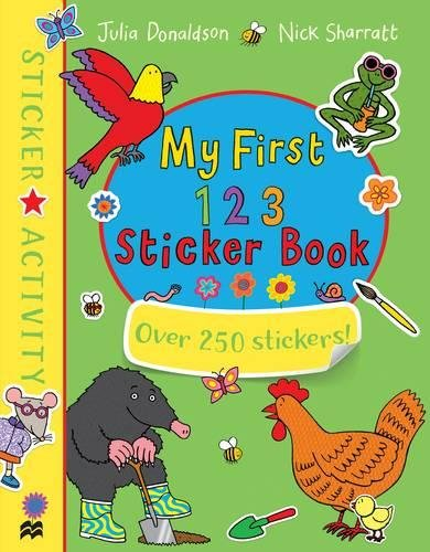 My First 123 Sticker Book george s first day at playgroup sticker story book