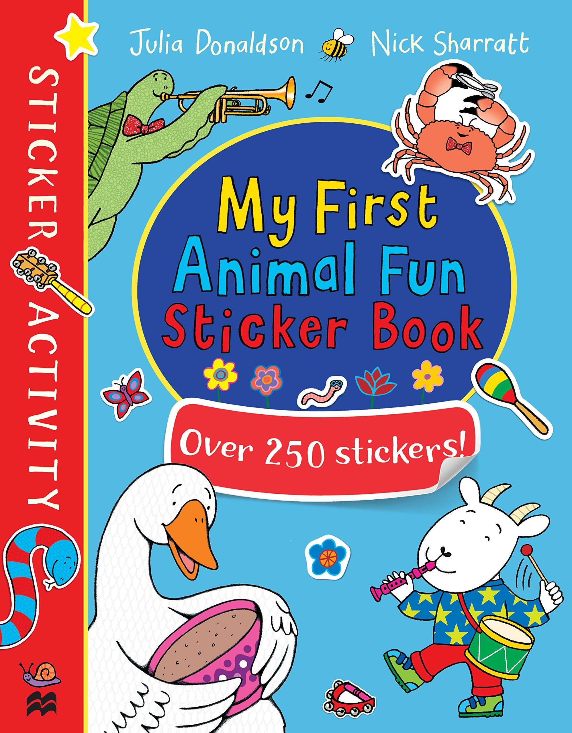 My First Animal Fun Sticker Book george s first day at playgroup sticker story book