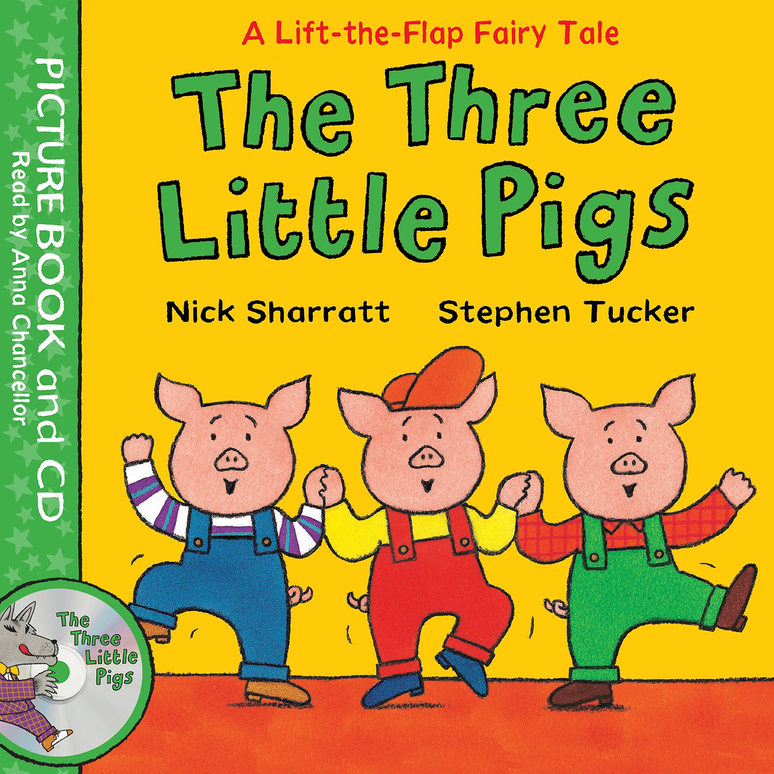 Lift-the-Flap Fairy Tales: The Three Little Pigs Book and CD Pack three men in a boat cd