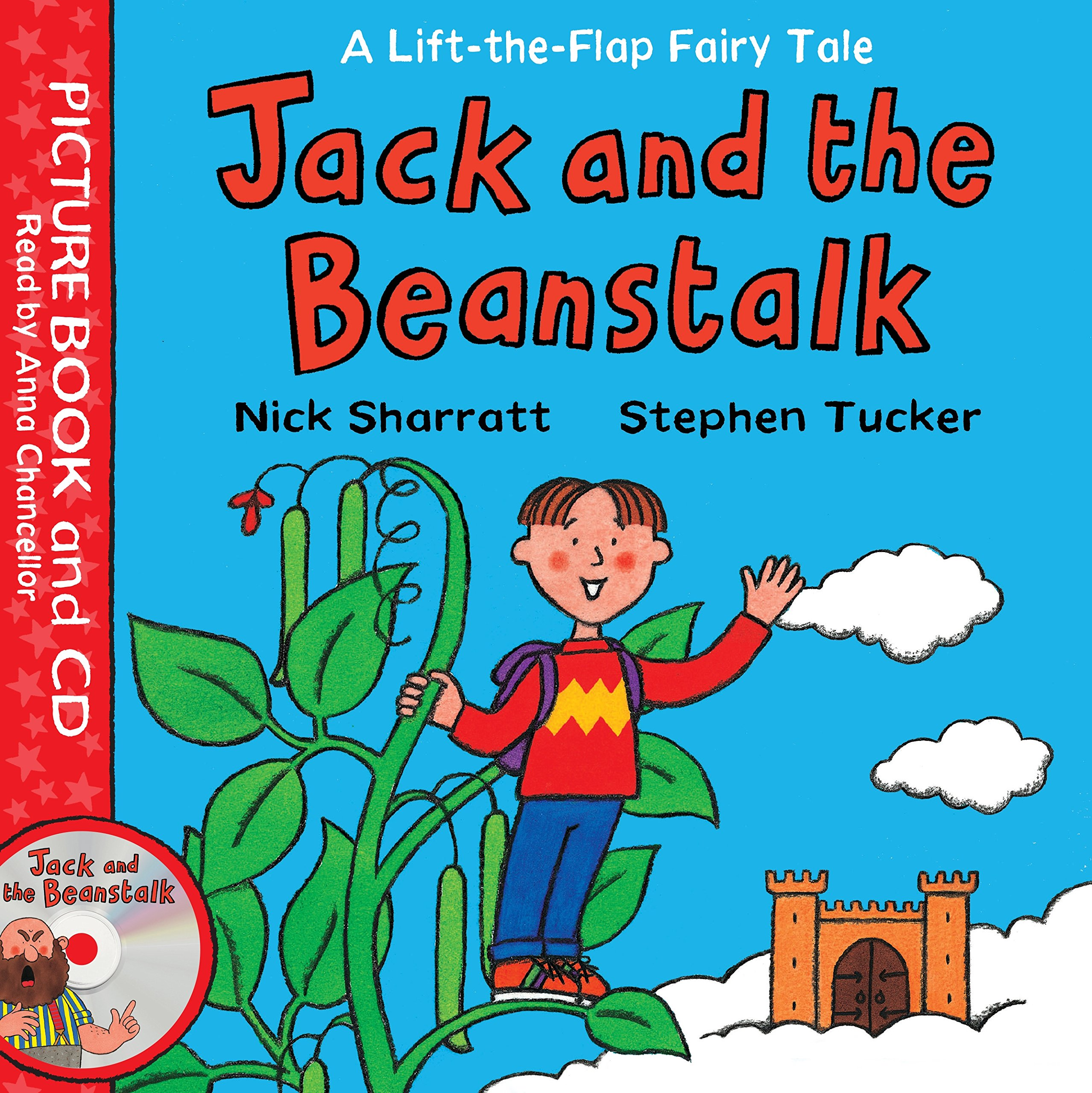 Lift-the-Flap Fairy Tales: Jack and the Beanstalk Book and CD Pack