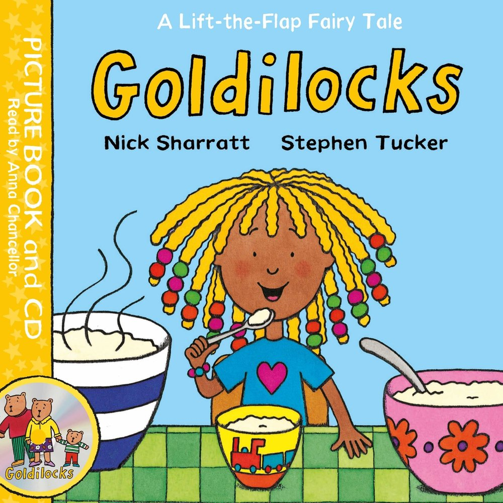 Lift-the-Flap Fairy Tales: Goldilocks Book and CD Pack lift the flap fairy tales