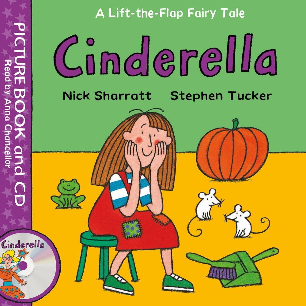 Lift-the-Flap Fairy Tales: Cinderella Book and CD Pack