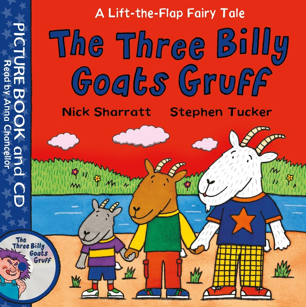 Lift-the-Flap Fairy Tales: The Three Billy Goats Gruff Book and CD Pack the counterlife