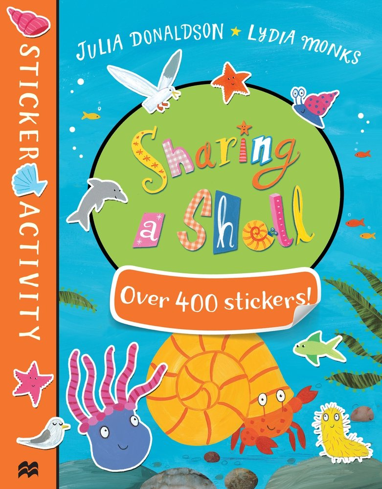Sharing a Shell Sticker Book amazing adventures sticker book