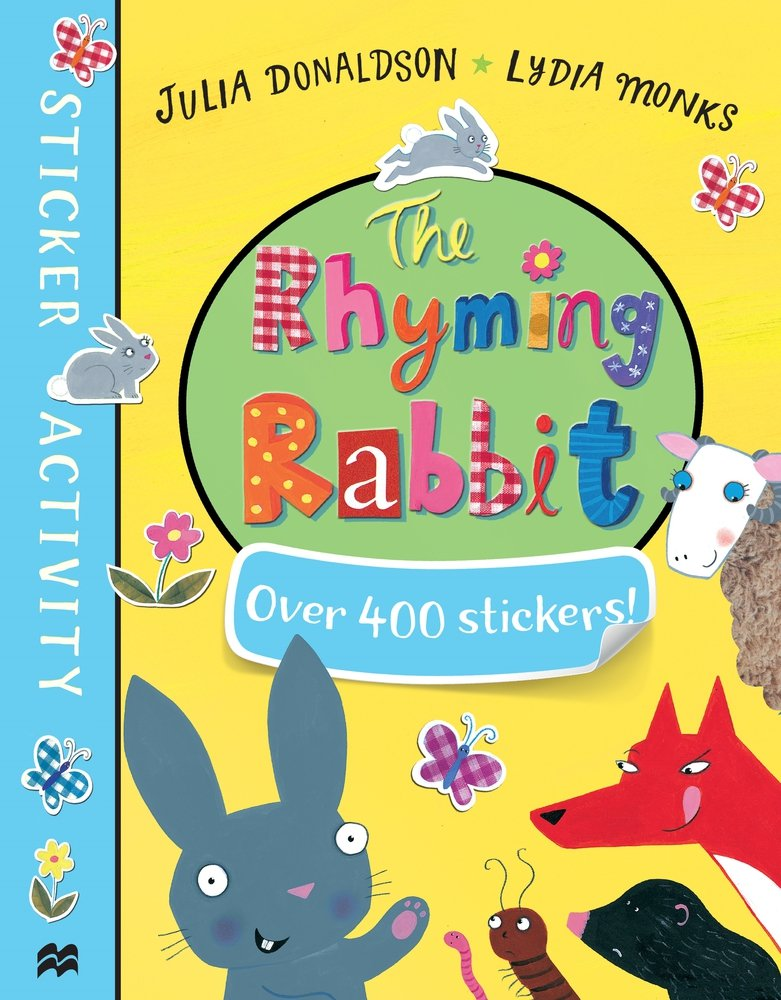 The Rhyming Rabbit Sticker Book the rhyming rabbit sticker book