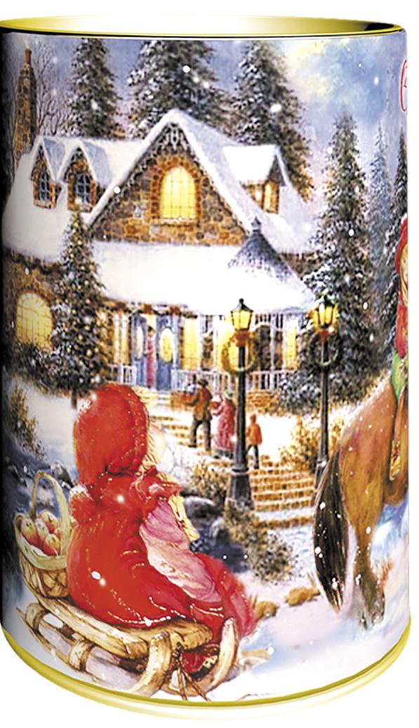 Teabreeze С Новым Годом чай черный байховый с чабрецом (туба), 100 г чай шар подарочный с новым годом и рождеством 60гр купаж черн и зел цейло