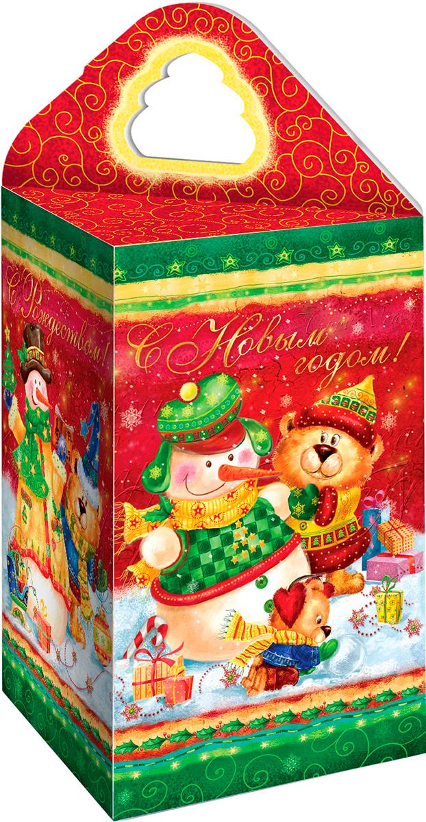 Teabreeze  С Новым Годом чай черный байховый, 100 гТВ 4013-100_НГTEABREEZE. Чай в подарочной фигурной картонной коробке с ручкой. С Новым годом! Чай Ассам мелколистовой. Легко определить по специфическому, пряному, немного цветочному аромату с необычными для чёрного чая медовыми нотками. Может сочетаться с молоком, сахаром и лимоном, но для более полного удовольствия от ассамовского послевкусия лучше этого избежать. Для лучшего ощущения послевкусия, после каждого глотка воздух надо выдыхать наполовину через рот, а наполовину через нос. Наградой за это будет легкий солодовый привкус с почти ментоловым свежим оттенком.