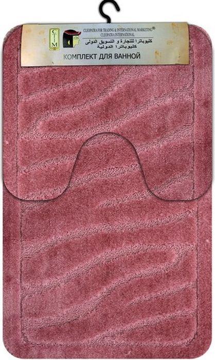"""Комплект МАС """"Рома. Камни"""", состоящий из коврика с вырезом под унитаз и коврика для  ванной комнаты, станет незаменимым аксессуаром для вашего дома. Коврики выполнены из  высококачественных материалов. Мягкие, приятные на ощупь коврики легко стираются и чистятся.  Комплект МАС """"Рома. Камни"""" подарит ощущение тепла и комфорта, а также привнесет уют  в вашу ванную комнату. Размер ковриков: 60 х 100 см, 60 х 50 см."""