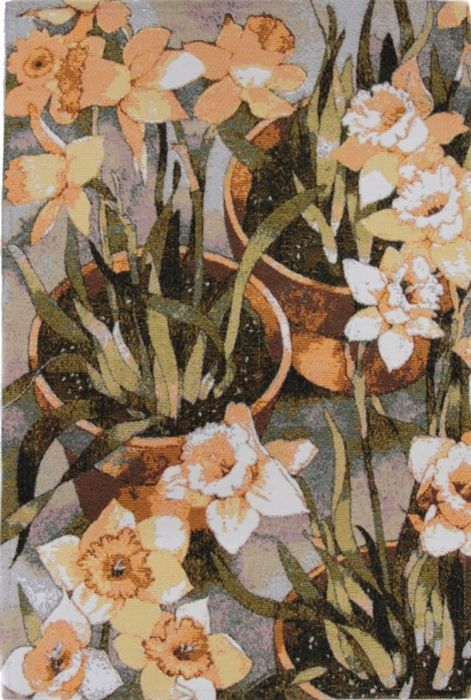 Ковер Oriental Weavers Санлайт, 75 х 120 см. 2241622416Яркие гобелены на основе из латекса за счет многообразия дизайнов станут незаменимым украшением любого интерьера.