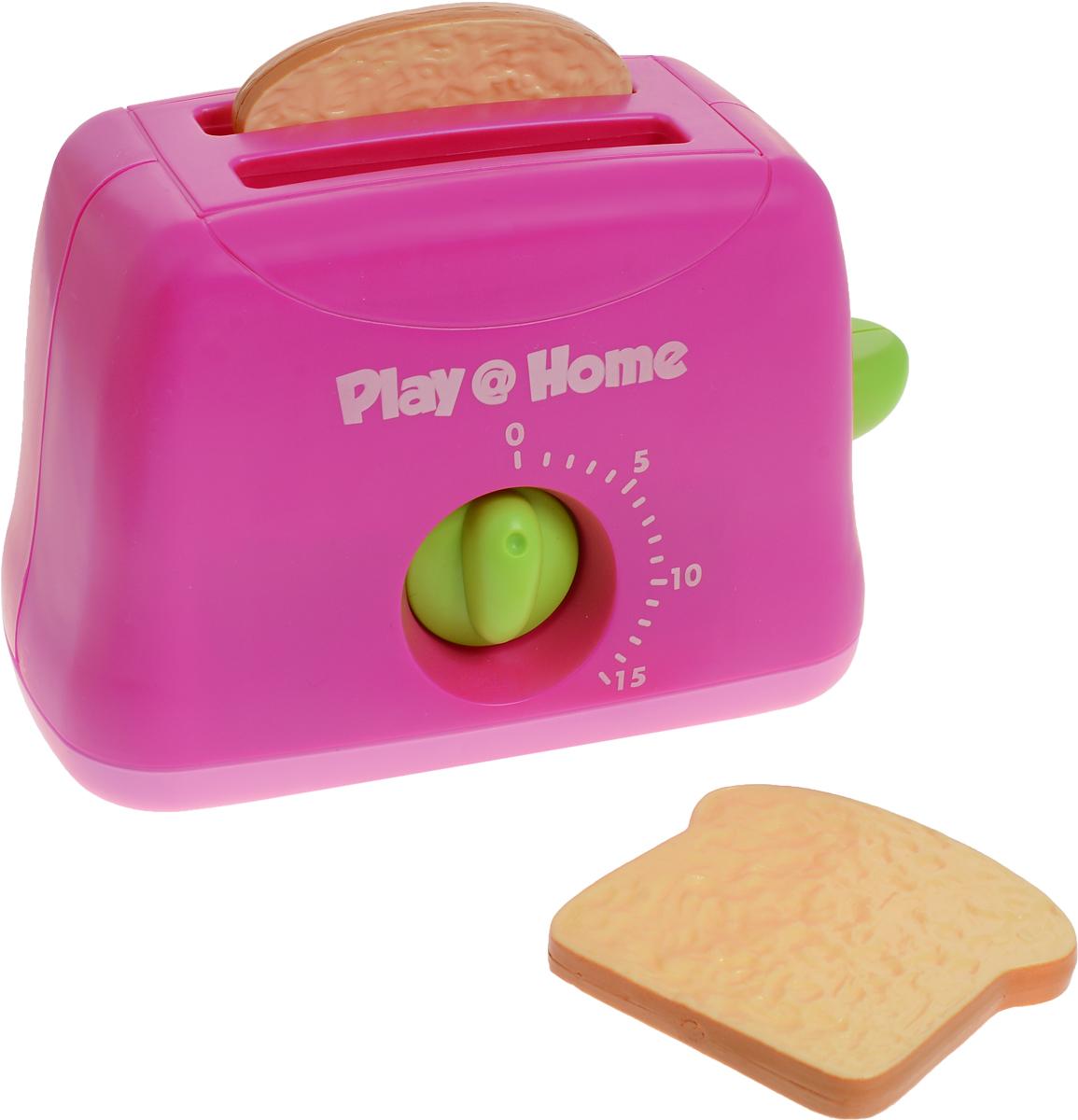 Keenway Игровой набор Тостер Try Me цвет малиновый