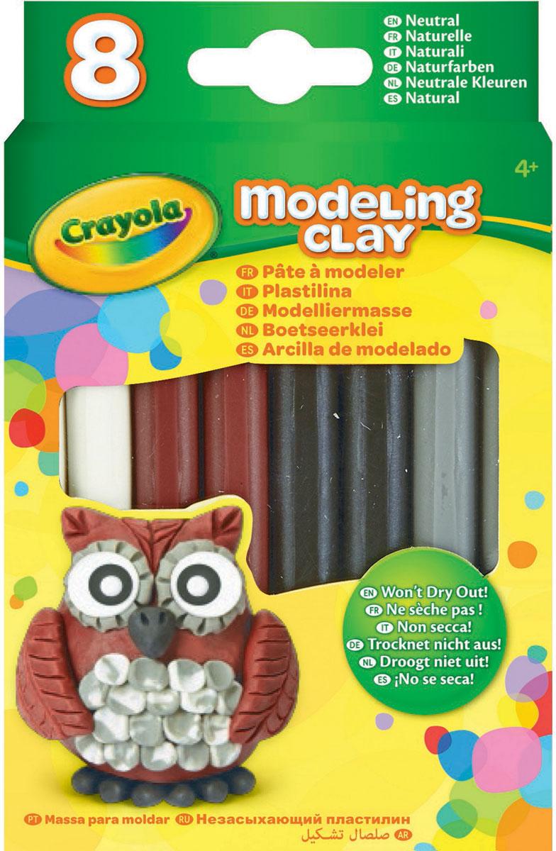 Crayola Пластилин Натуральный 8 цветов -  Пластилин