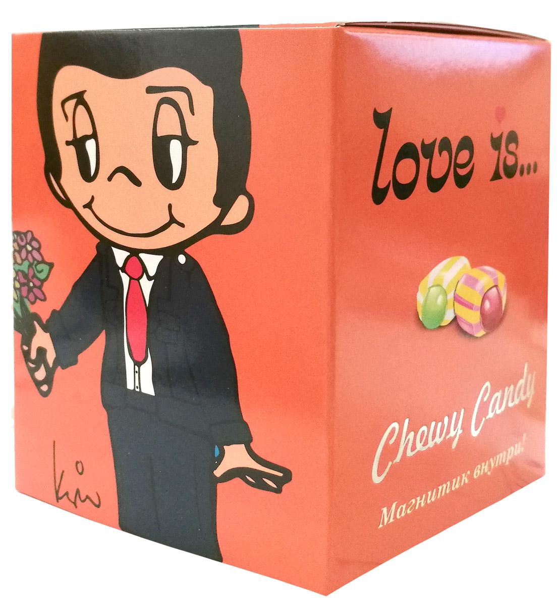 Love is Жевательные конфеты с жидким центром, 125 г love is микс жевательные конфеты девочки 125 г