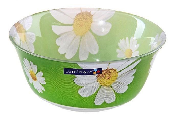 Салатник Luminarc Карин Ромашка, диаметр 12 смG0094Салатник Luminarc Карин Ромашка выполнен из ударопрочного стекла. Салатник идеально подойдет для сервировки стола и станет отличным подарком к любому празднику.Бренд Luminarc – это один из лидеров мирового рынка по производству посуды и товаров для дома. В основе процесса изготовления лежит высококачественное сырье, а также строгий контроль качества. Товары для дома Luminarc уважают и ценят во всем мире, а многие эксперты считают данного производителя эталоном совершенства.
