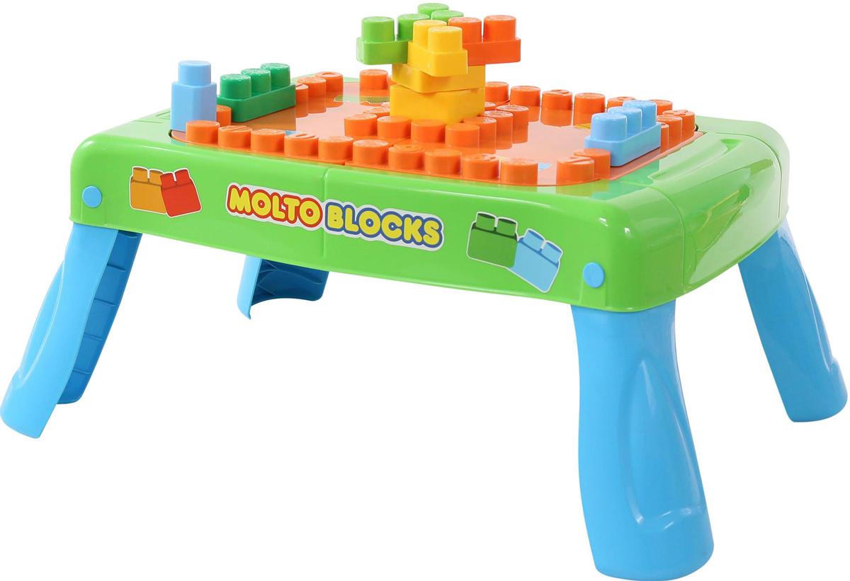 Полесье Набор игровой с конструктором с элементом вращения цвет зеленый - Конструкторы