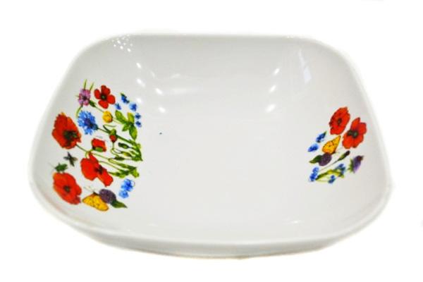 Салатник Дулевский Фарфор Цветущий луг, 1,04 л073362Элегантный салатник Цветущий луг, изготовленный из высококачественного фарфора, прекрасно подойдет для подачи различных блюд: закусок, салатов или фруктов. Такой салатник украсит ваш праздничный или обеденный стол, а оригинальное исполнение понравится любой хозяйке.