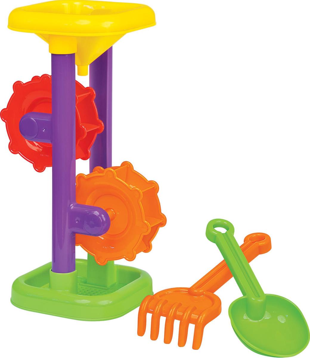 Полесье Набор игрушек для песочницы №281 полесье игрушка для песочницы грабельки 7