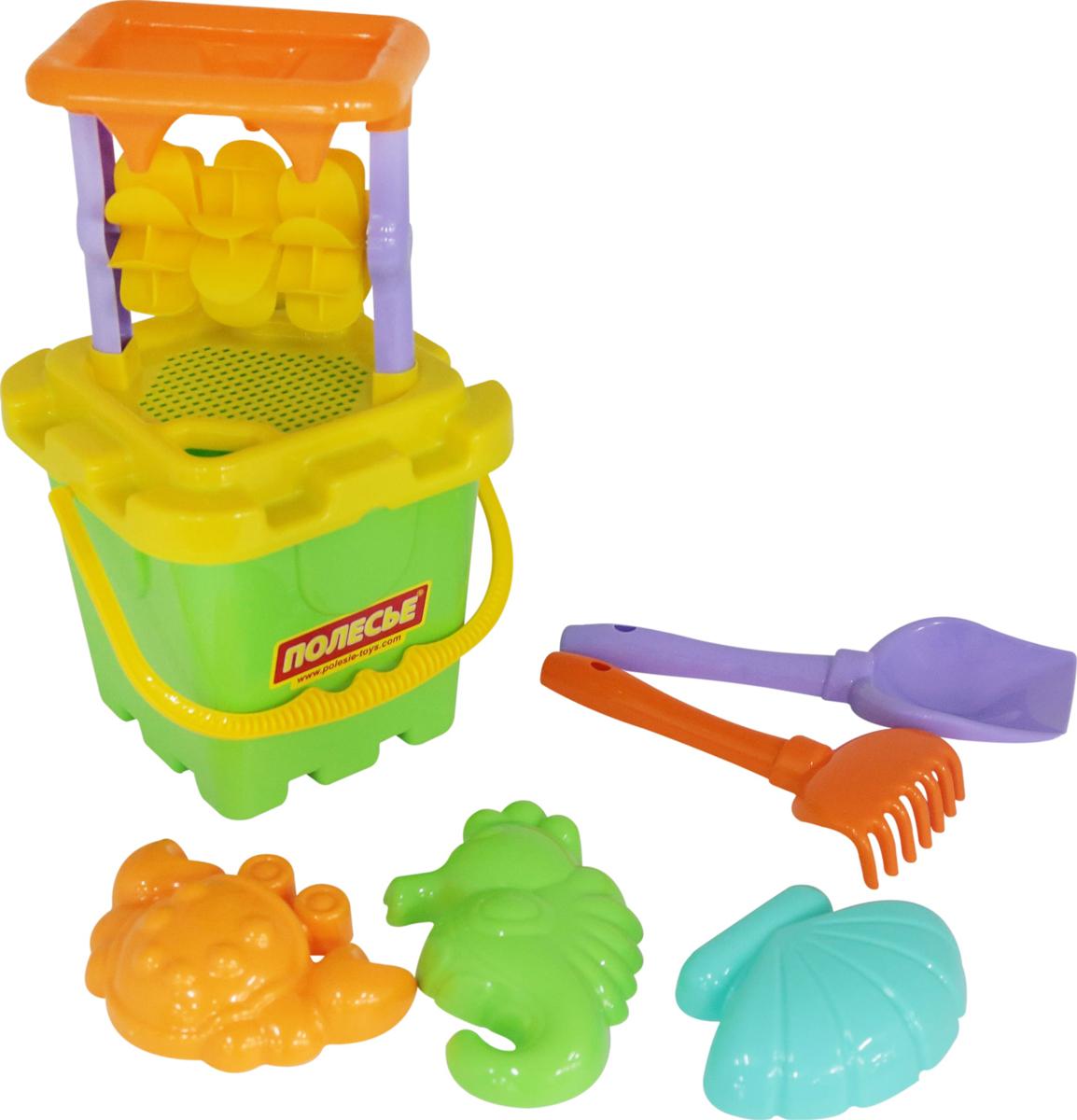 Полесье Набор игрушек для песочницы №283 полесье набор для песочницы 406