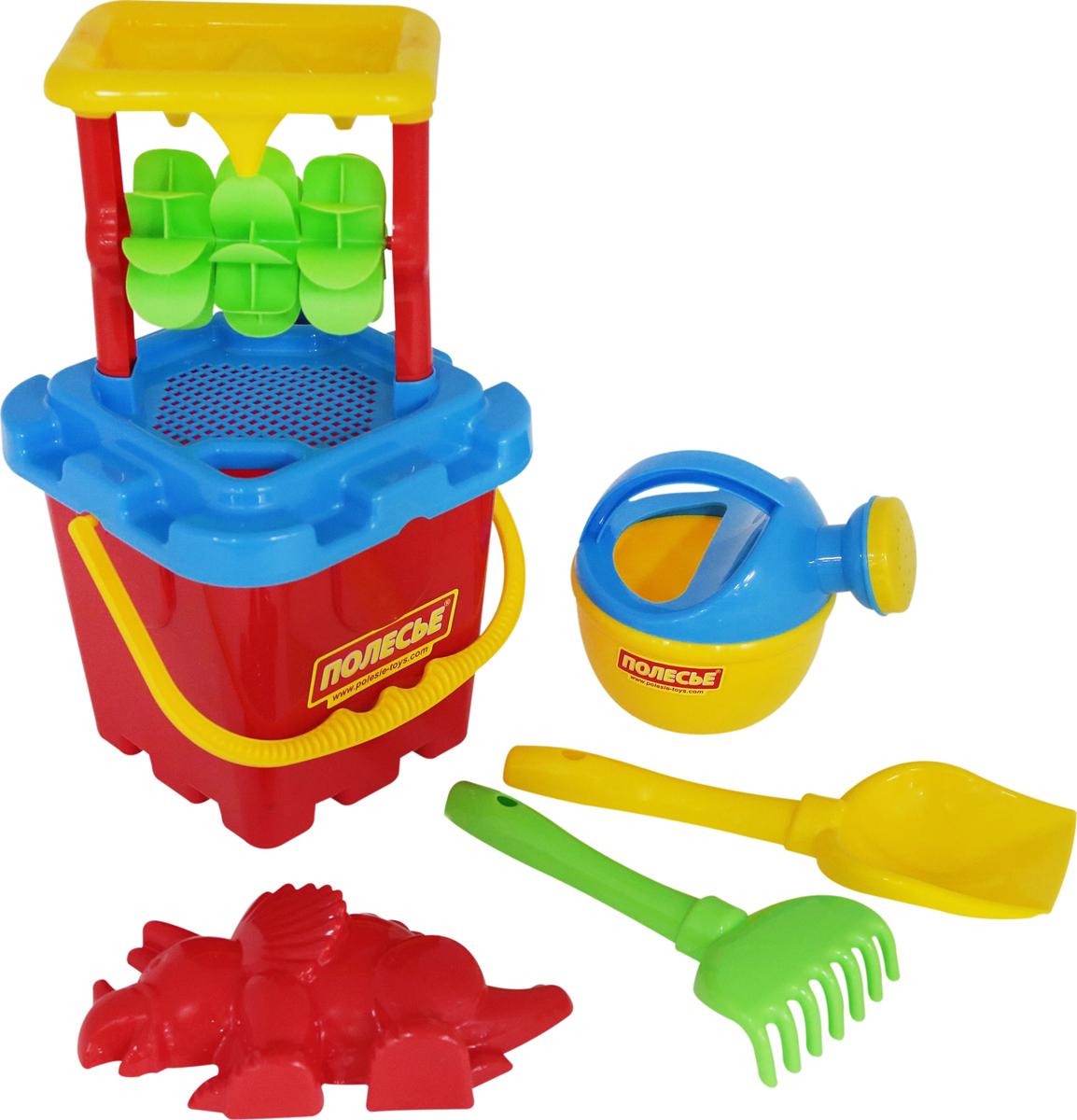 Полесье Набор игрушек для песочницы №285 полесье набор для песочницы 406