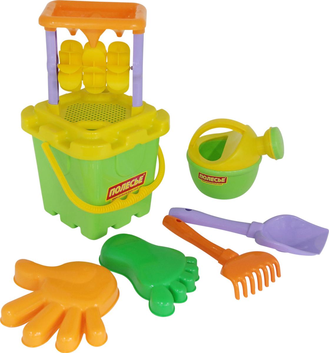 Полесье Набор игрушек для песочницы №286 полесье набор игрушек для песочницы 73