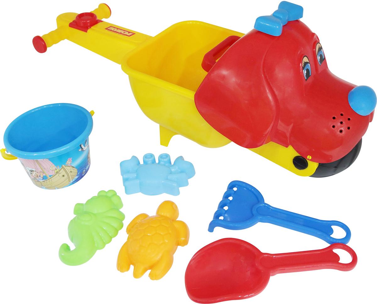 Полесье Набор игрушек для песочницы №340 полесье набор для песочницы 340